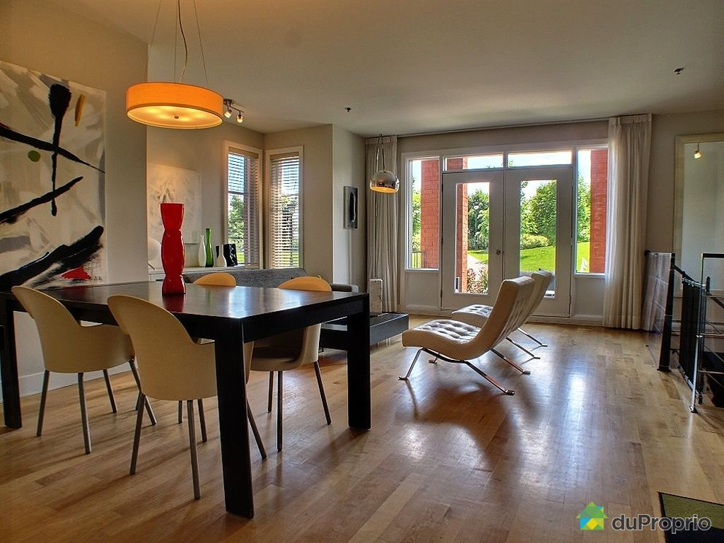 Condo vendu montr al immobilier qu bec duproprio 338853 for La salle a manger montreal