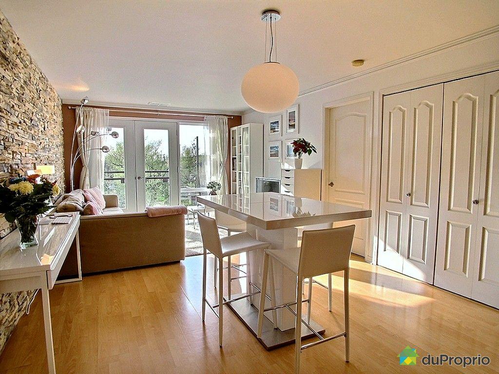 Condo vendu montr al immobilier qu bec duproprio 517795 for La salle a manger montreal