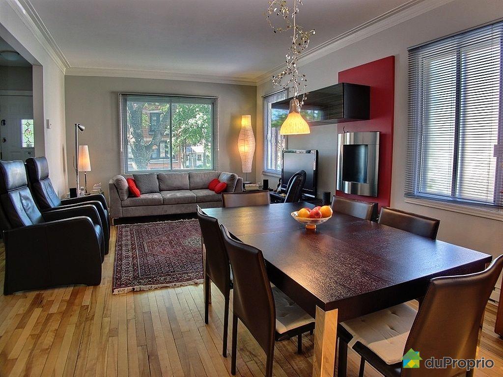 duplex vendu montr al 3235 avenue mercier immobilier qu bec duproprio 420132. Black Bedroom Furniture Sets. Home Design Ideas