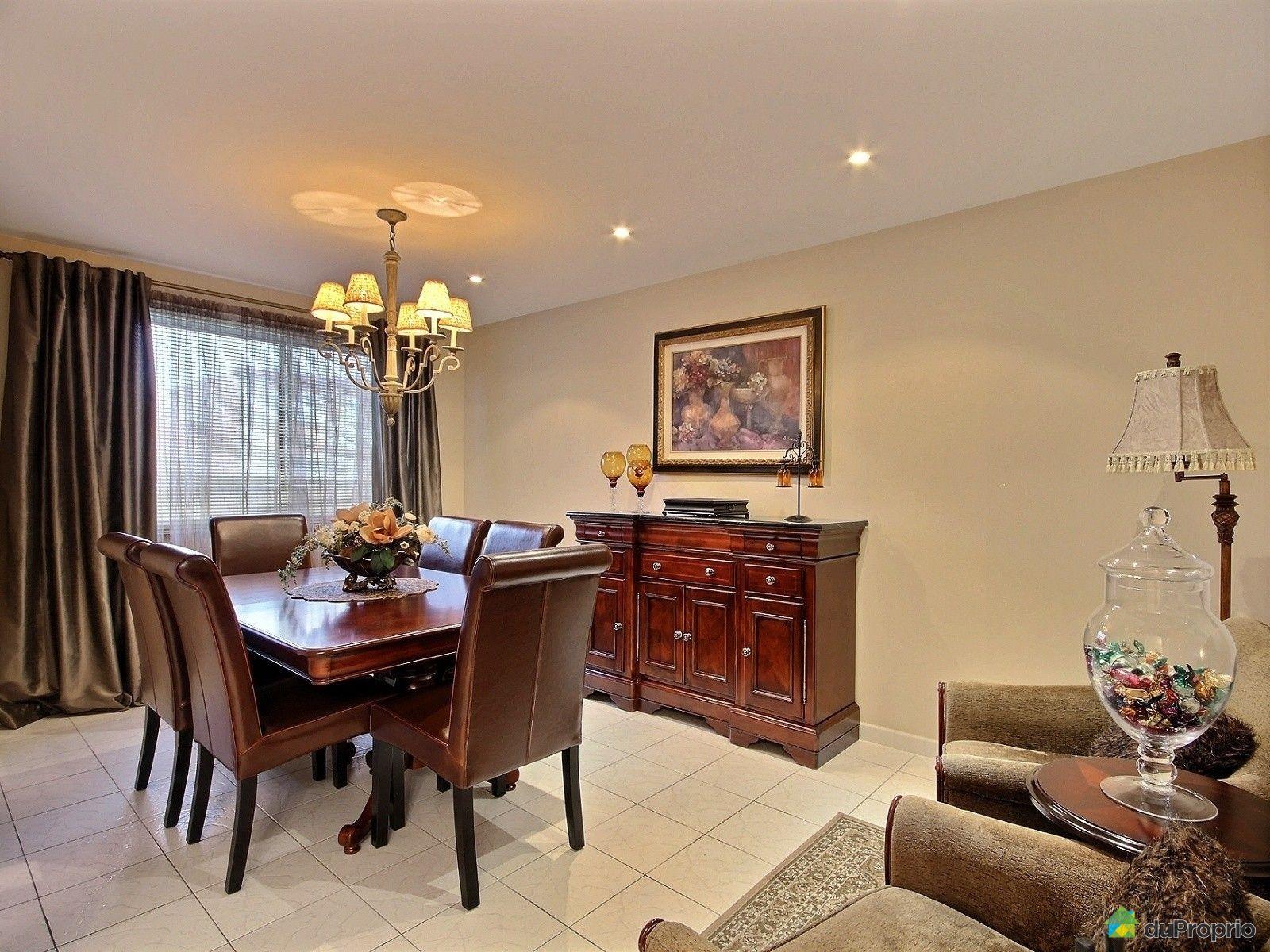 Duplex vendre montr al 11259 avenue arthur buies for Salle a manger montreal