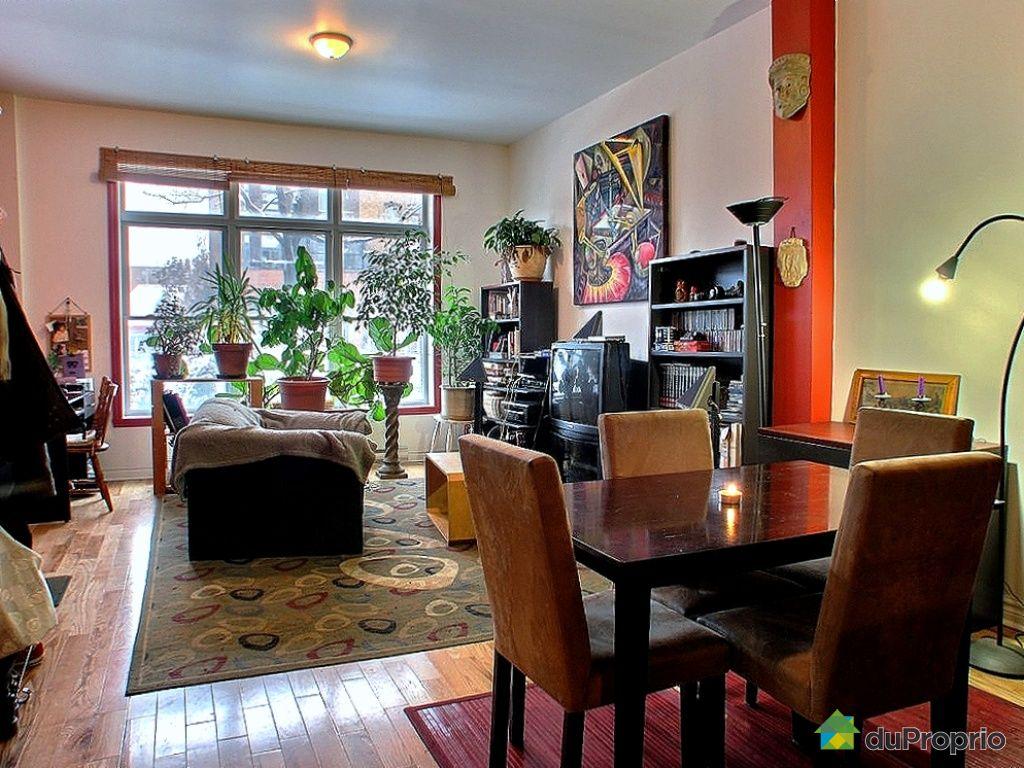 Loft vendu montr al immobilier qu bec duproprio 301259 for Salle a manger loft