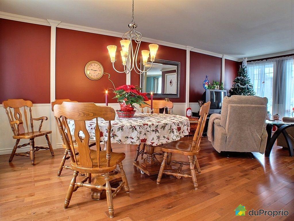 Maison vendu l vis immobilier qu bec duproprio 339088 for Salle a manger levi