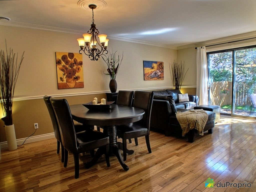 Immobilier condos maisons vendre sans agent 0 share the for Salle a manger montreal