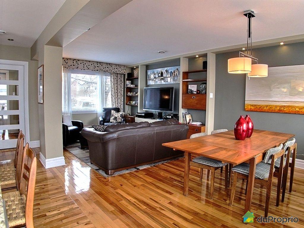Maison vendu montr al immobilier qu bec duproprio 392305 for La salle a manger salon de provence