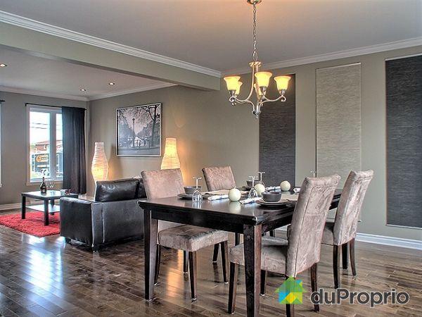 Maison neuve vendu st hubert immobilier qu bec for Exemple de salon salle a manger