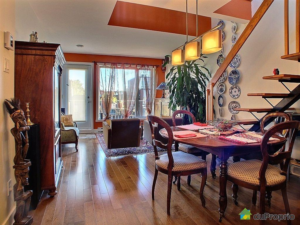 Penthouse vendu montr al immobilier qu bec duproprio for Salle a manger montreal