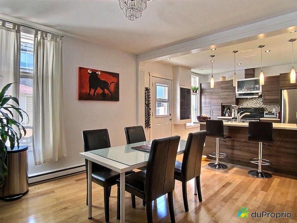 Triplex vendu montr al immobilier qu bec duproprio 520804 for Salle a manger montreal