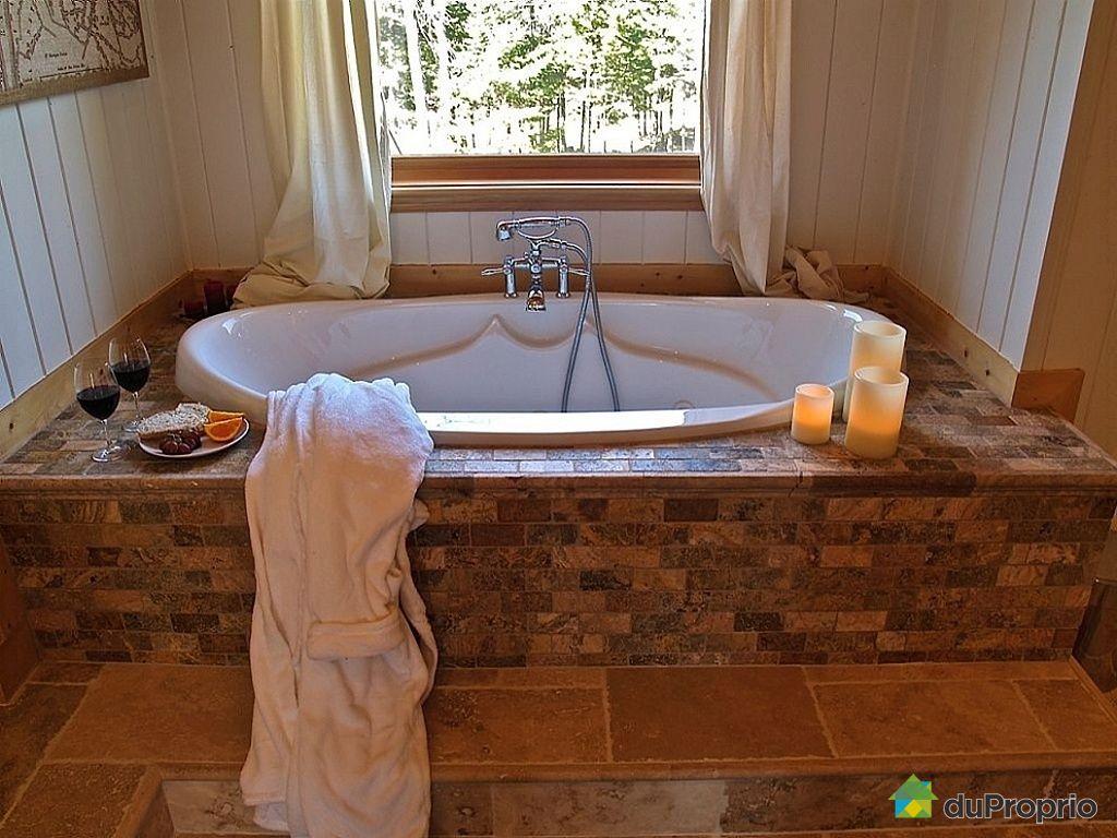 Salle de bain chalet bois rond – lombards