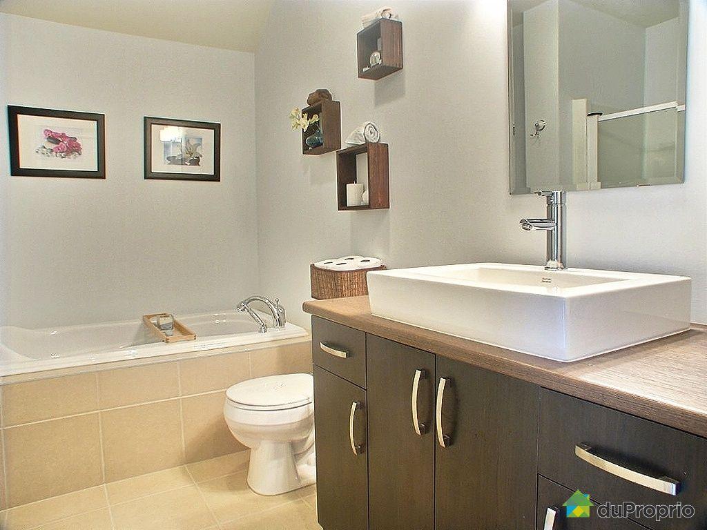 Condo vendu brossard immobilier qu bec duproprio 227332 for Hauteur comptoir salle de bain
