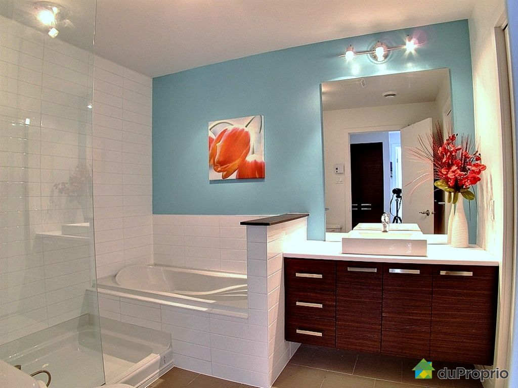 Condo vendu montr al immobilier qu bec duproprio 393578 - Configuration salle de bain ...
