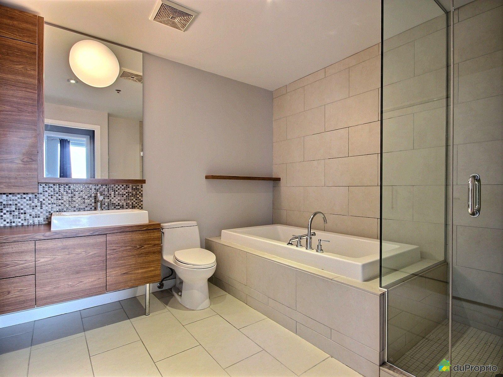 Condo vendre montr al 309 1000 boulevard ren l vesque for Salle de bain commune a deux chambres
