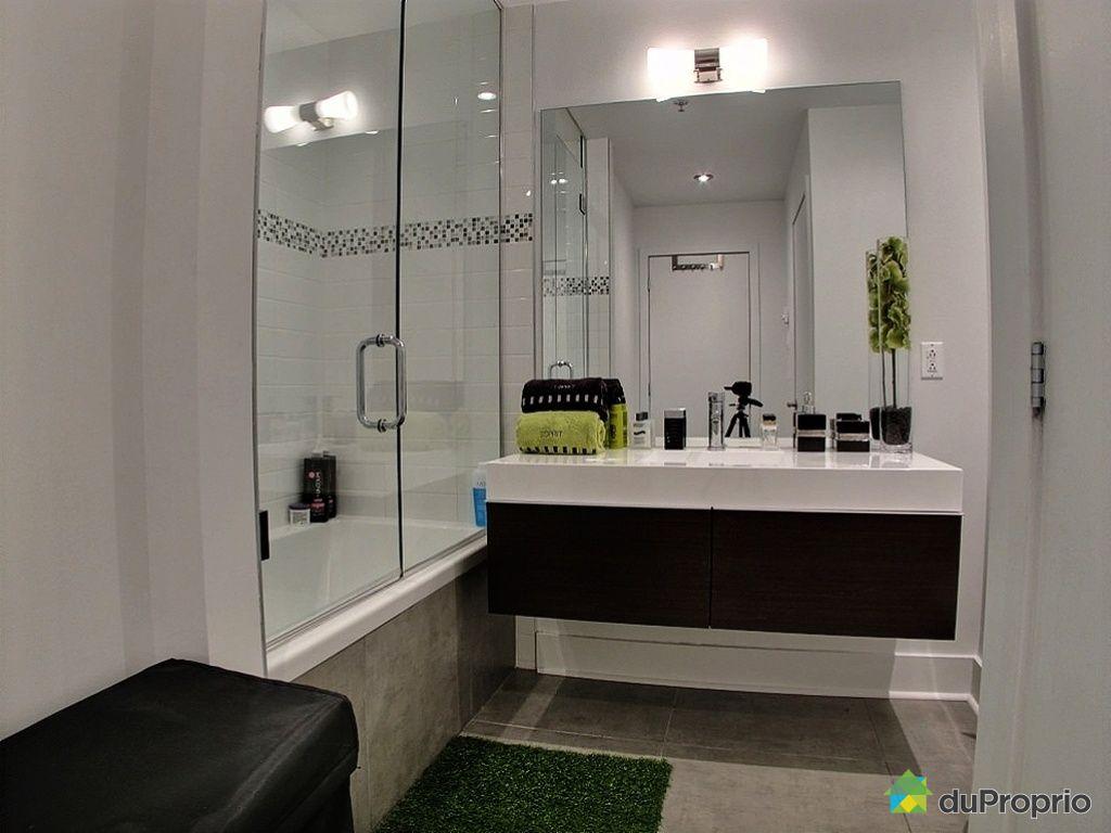 Condo vendu montr al immobilier qu bec duproprio 395854 for Accessoire salle de bain ville de quebec