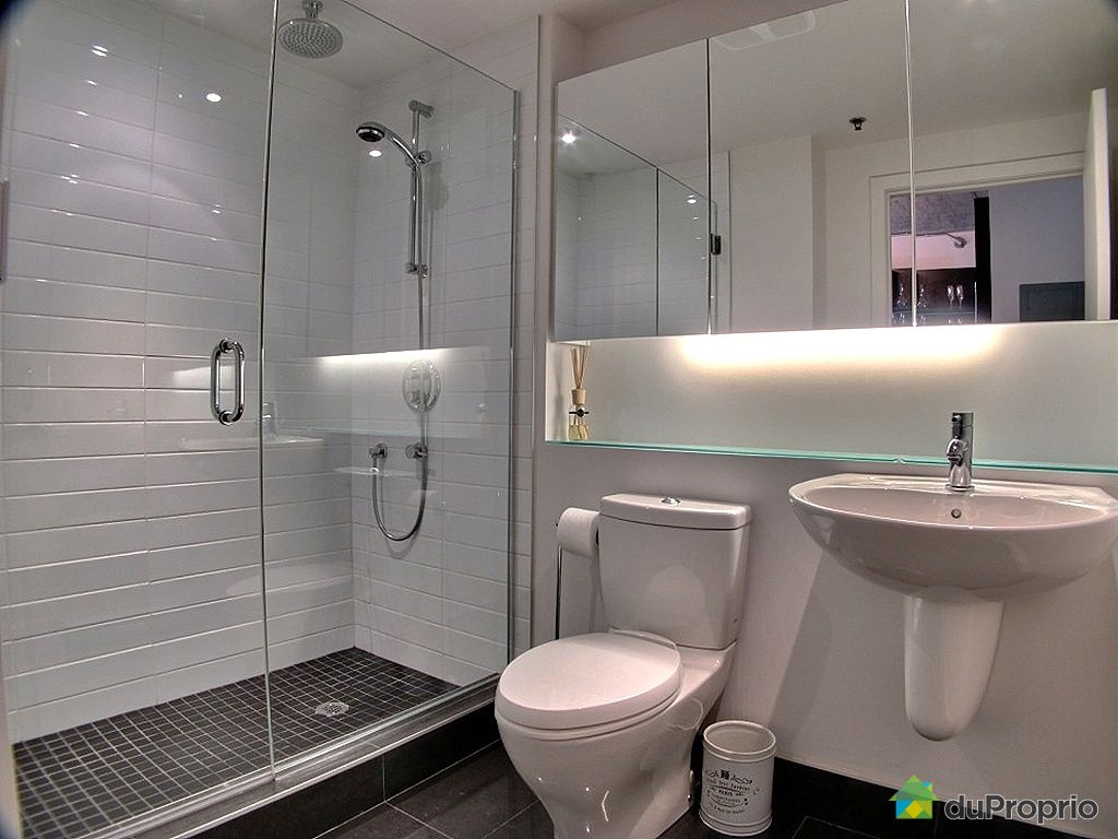 Condo vendu montr al immobilier qu bec duproprio 406734 for Salle de bain montreal