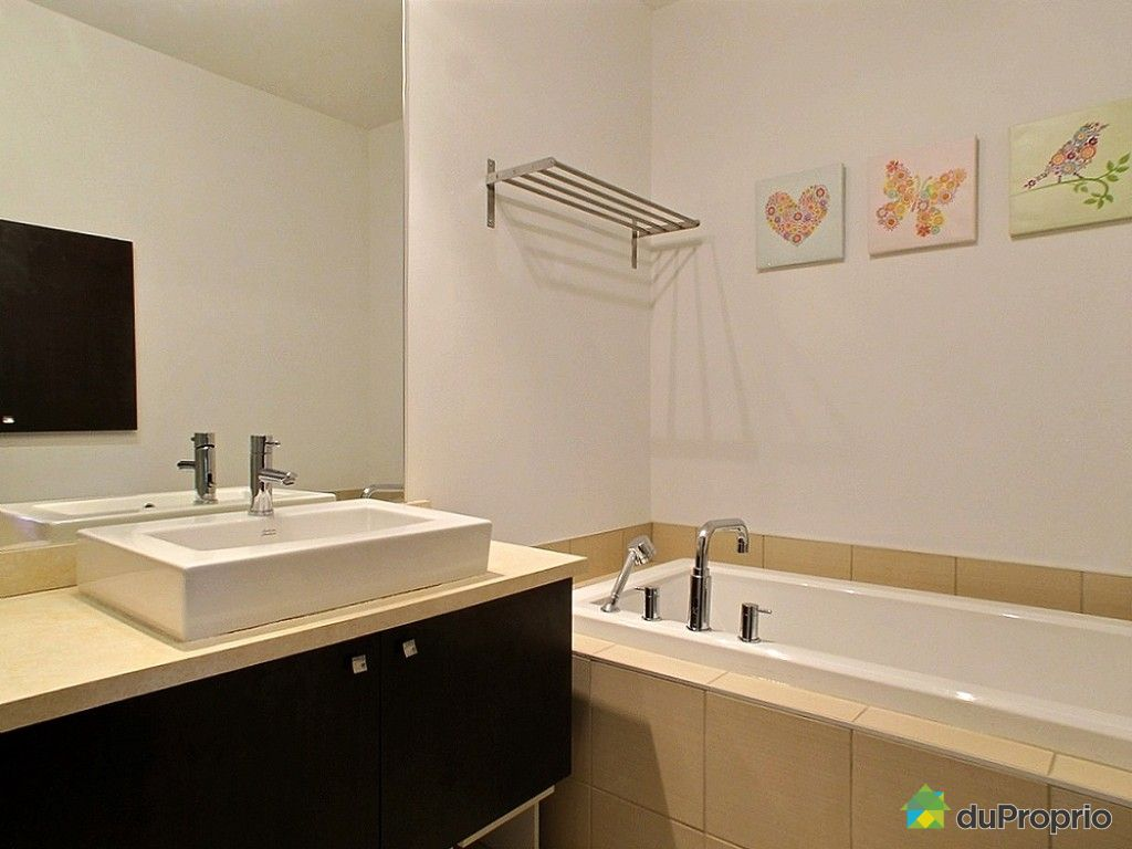 Condo vendre montr al 5501 rue gerry boulet immobilier for Salle de bain royan