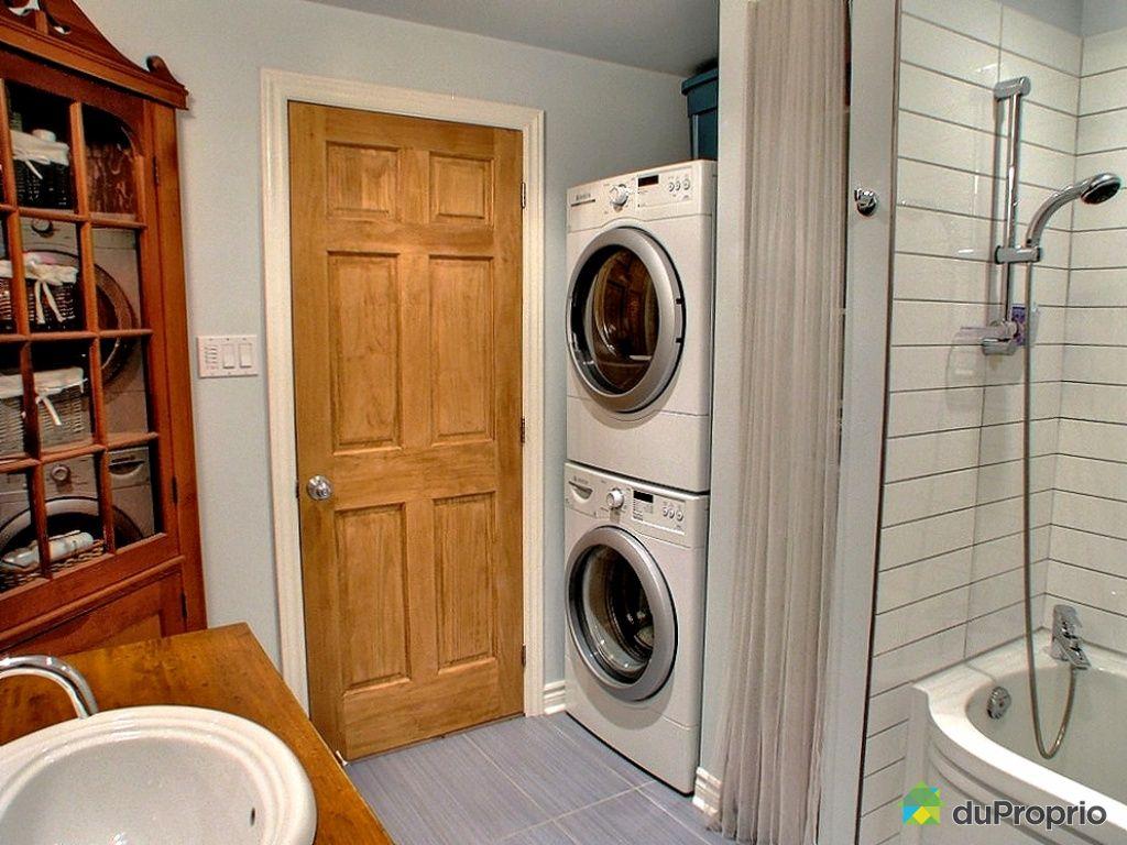 #B14F17 Plan Salle De Bain Avec Laveuse Secheuse – Salle De Bains  2649 petite salle de bain avec laveuse secheuse 1024x768 px @ aertt.com