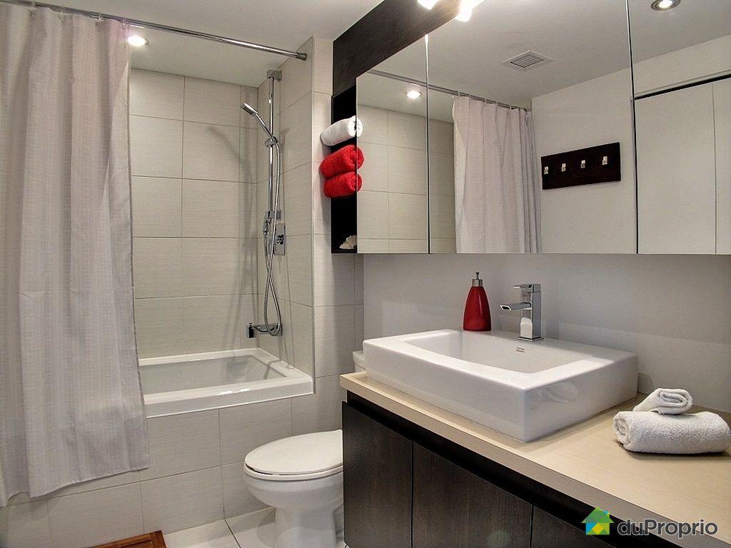 Condo vendu montr al immobilier qu bec duproprio 372570 for Salle de bain moderne quebec