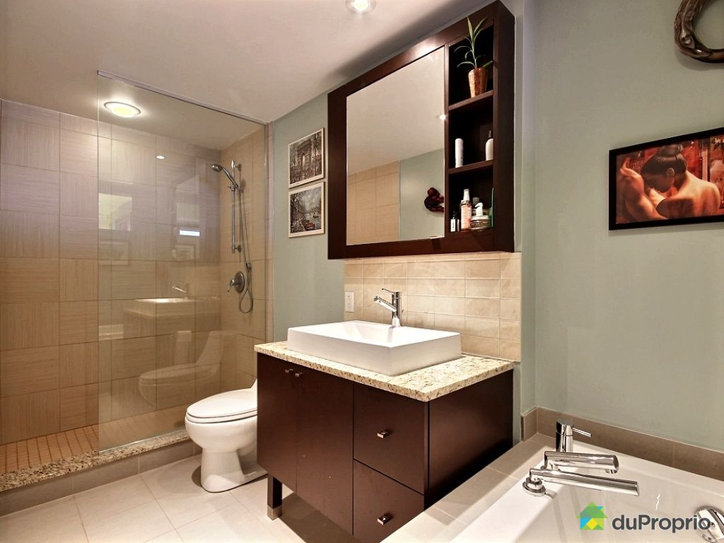 Condo vendu montr al immobilier qu bec duproprio 481536 for Reno salle de bain quebec