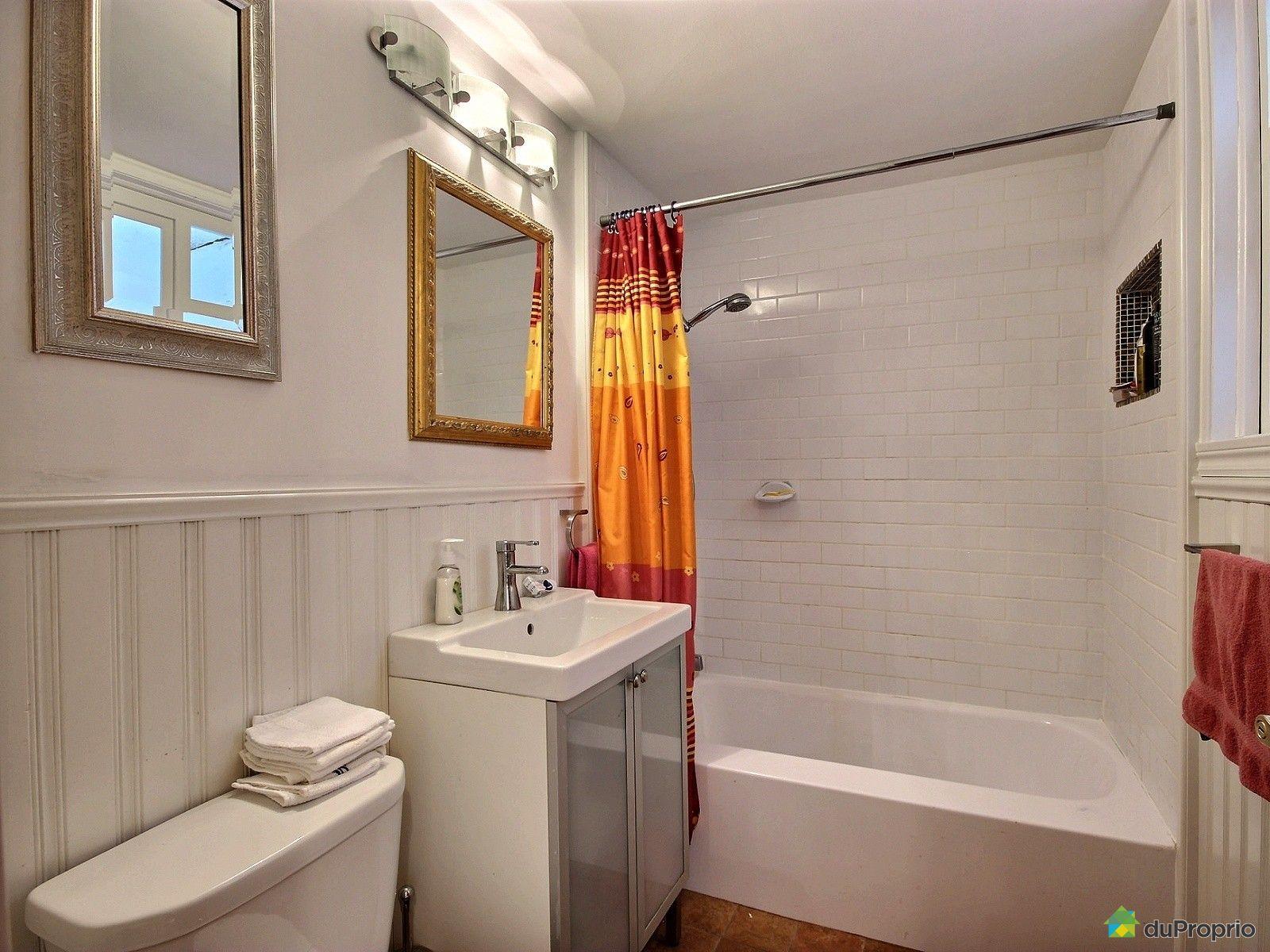 Duplex vendu montr al immobilier qu bec duproprio 654729 for Reno salle de bain quebec