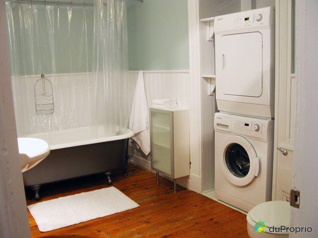 Idee salle de bain avec machine a laver for Amenagement petite salle de bain avec machine a laver