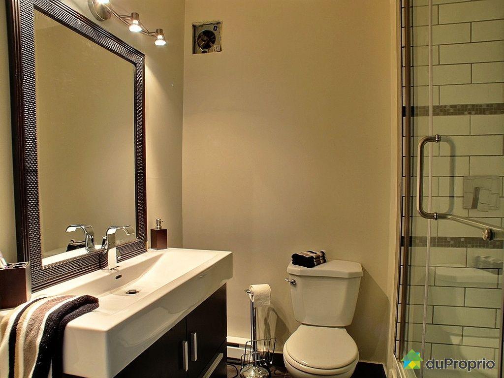 Loft vendu charlesbourg immobilier qu bec duproprio - Salle de bain loft ...