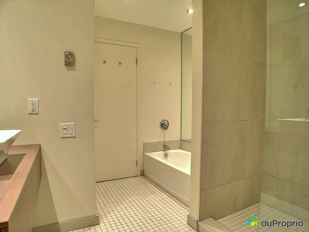Loft vendu montcalm immobilier qu bec duproprio 235098 - Salle de bain loft new yorkais ...