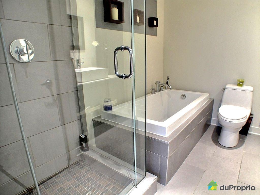 Loft vendu montr al immobilier qu bec duproprio 268396 - Salle de bain loft new yorkais ...