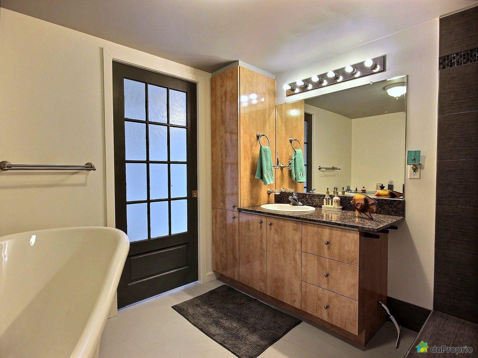 Loft vendu saint sauveur immobilier qu bec duproprio - Salle de bain loft new yorkais ...