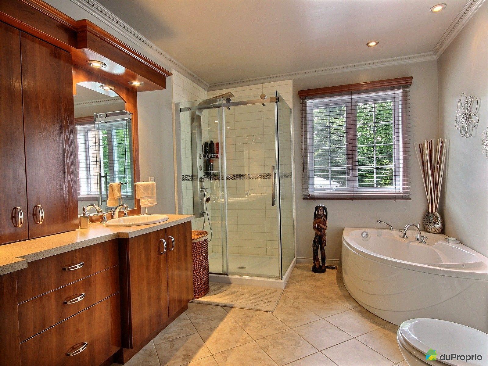 Maison vendu charette immobilier qu bec duproprio 635560 for Plomberie salle de bain au sous sol