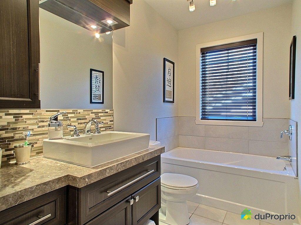 Maison vendre granby 117 rue lemieux immobilier qu bec for Plomberie salle de bain au sous sol