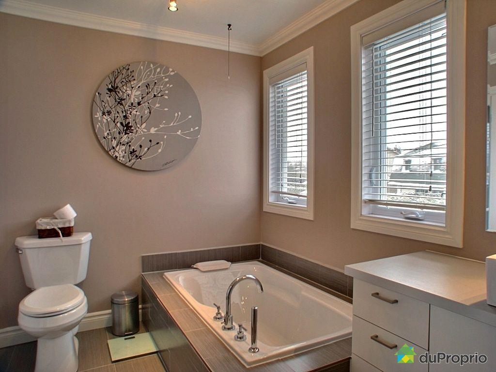 Maison vendu longueuil immobilier qu bec duproprio 222605 for Salle de bain longueuil