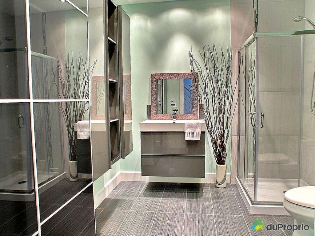 Maison vendu montr al immobilier qu bec duproprio 292680 - Couleur peinture salle de bain tendance ...