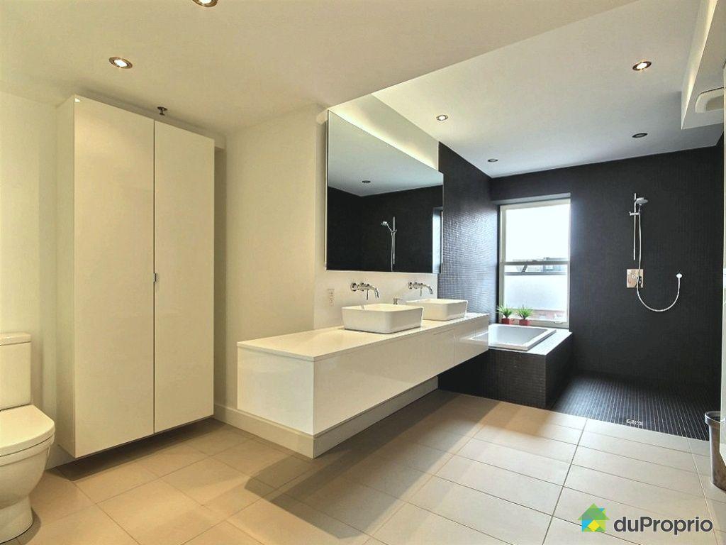 Penthouse vendu montr al immobilier qu bec duproprio for Salle de bain commune a deux chambres