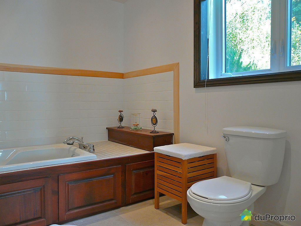 Chalet vendre val des lacs 9 11 chemin l 39 arriv for Plomberie salle de bain au sous sol