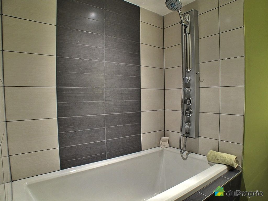 Condo vendu montr al immobilier qu bec duproprio 242277 - Salle de bain sous sol ...