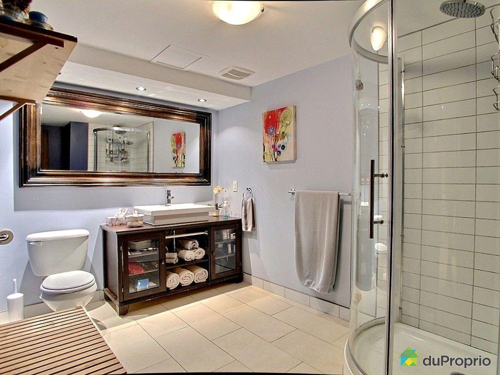 Condo vendu montr al immobilier qu bec duproprio 538243 for Petite salle de bain sous sol