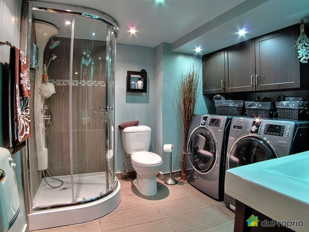 Duplex vendu montr al immobilier qu bec duproprio 387908 for Plomberie sous sol salle de bain