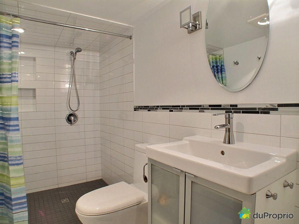 Duplex vendu pont viau immobilier qu bec duproprio 489927 - Salle de bain sous sol ...