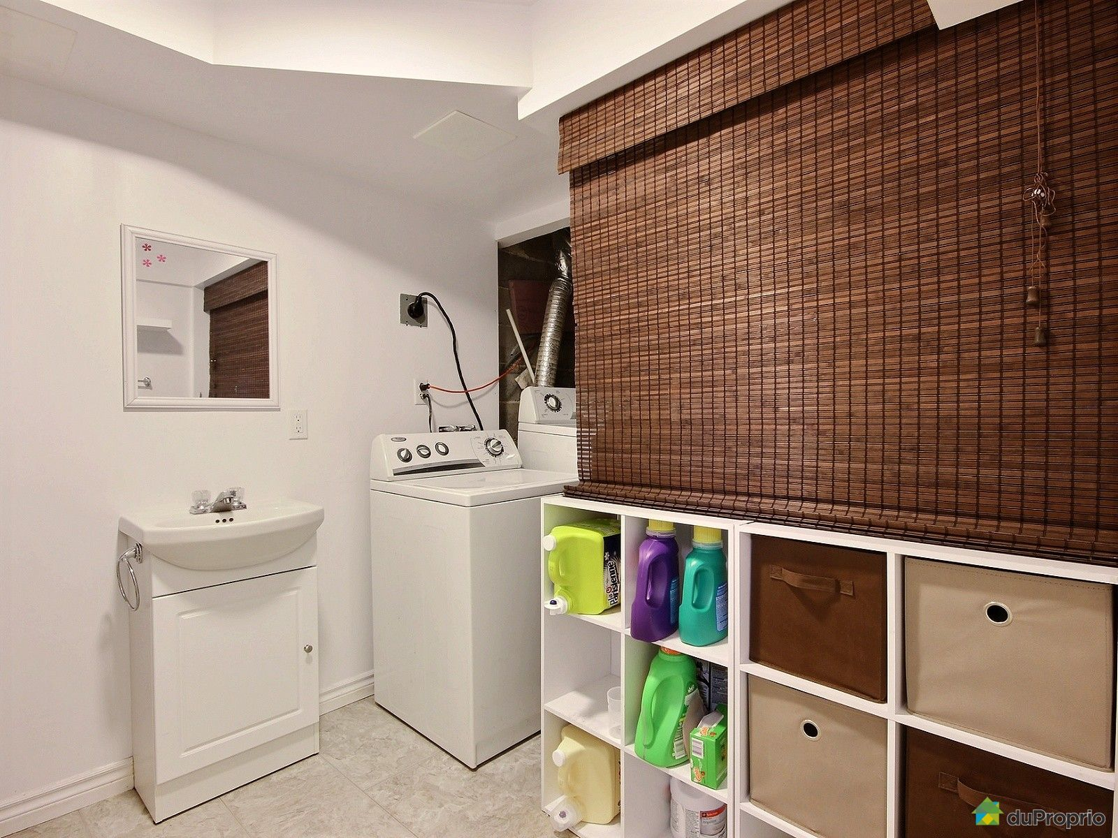 Duplex vendu montr al immobilier qu bec duproprio 695012 for Petite salle de bain sous sol