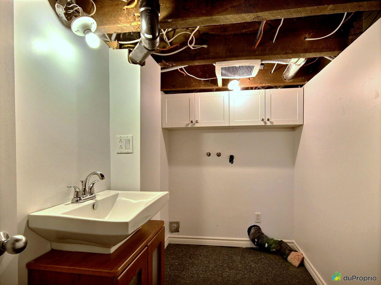 Duplex vendre montr al 6563 30e avenue immobilier for Petite salle de bain sous sol