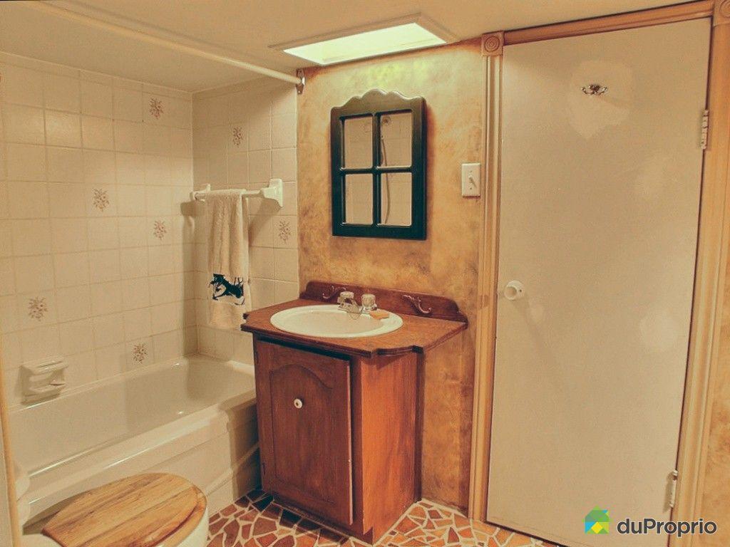 Duplex vendu montr al immobilier qu bec duproprio 402172 for Plomberie sous sol salle de bain