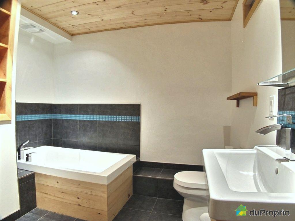 Duplex vendu montr al immobilier qu bec duproprio 478489 for Plomberie sous sol salle de bain