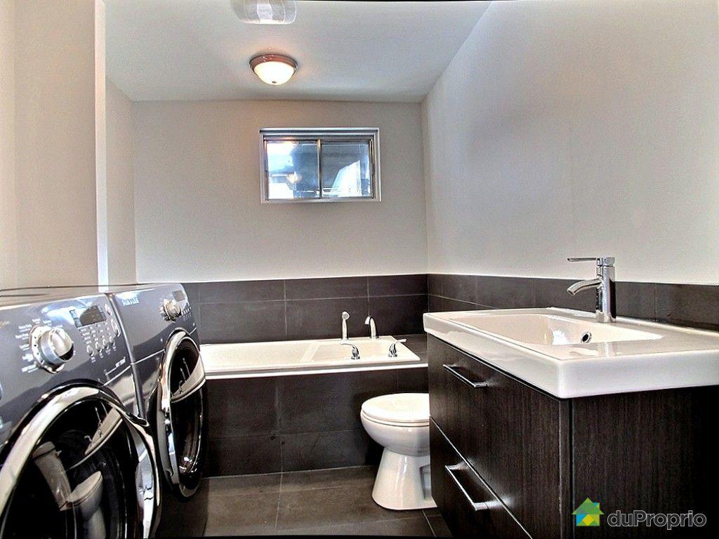 Duplex vendu montr al immobilier qu bec duproprio 452056 for Petite salle de bain sous sol