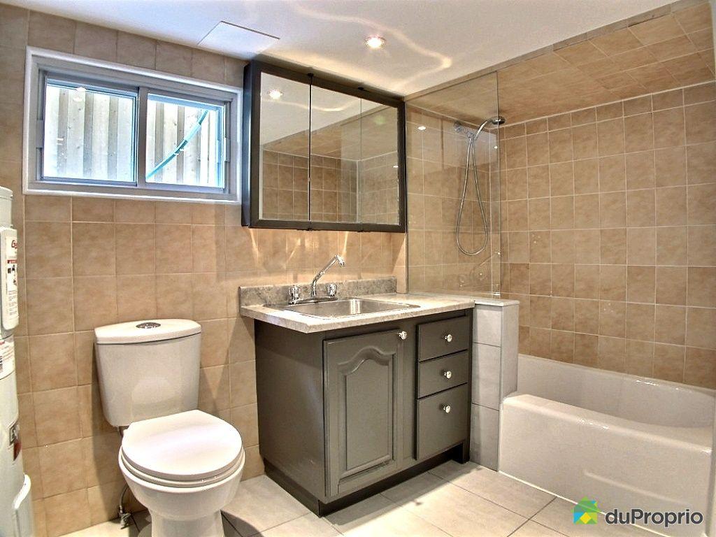 Jumel vendu montr al immobilier qu bec duproprio 461852 - Salle de bain sous sol ...