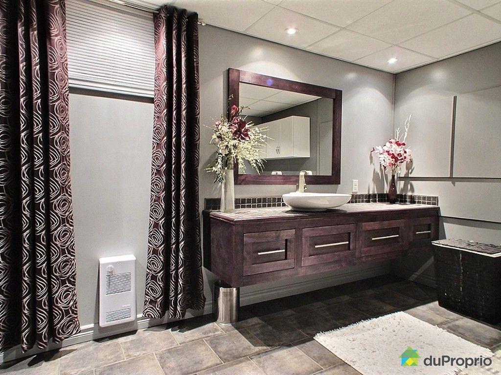 Jumel vendu aylmer immobilier qu bec duproprio 559228 - Salle de bain sous sol ...
