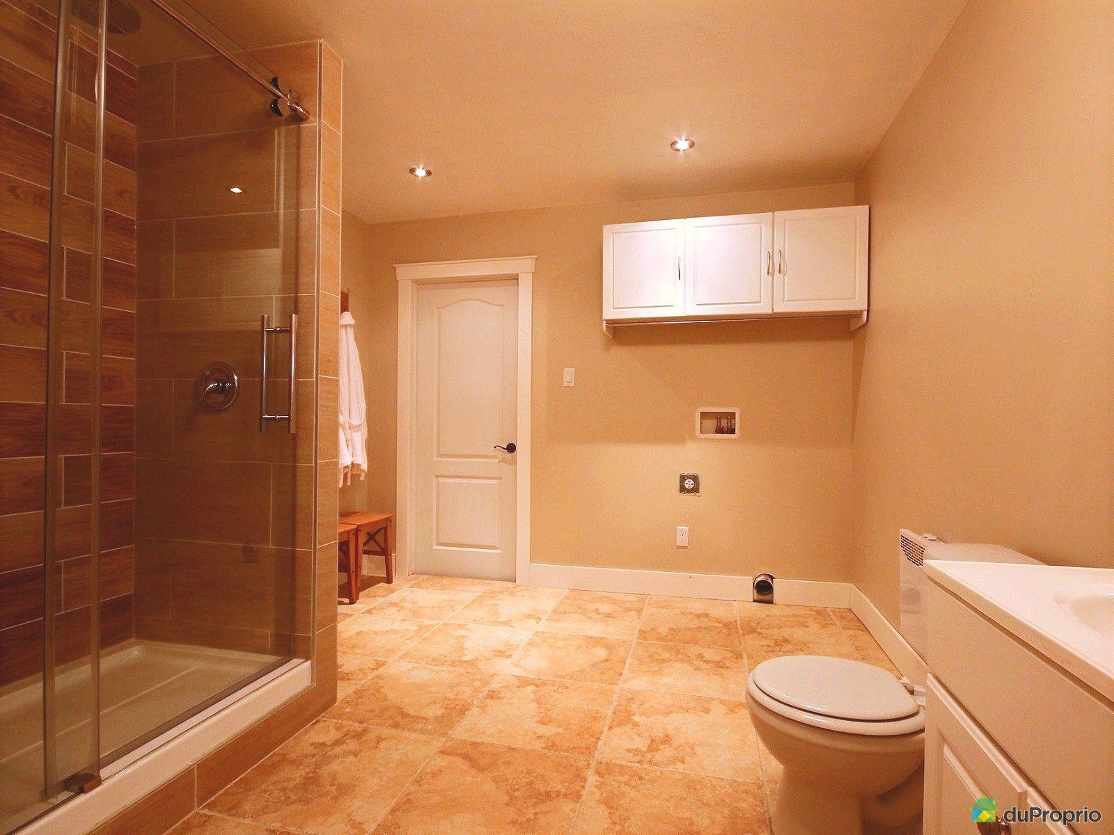 Jumel vendre contrecoeur 4766 rue joseph lamoureux - Salle de bain sous sol ...