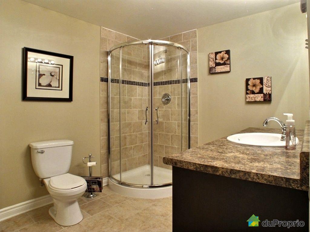 Jumel vendu gatineau immobilier qu bec duproprio 471965 - Salle de bain sous sol ...