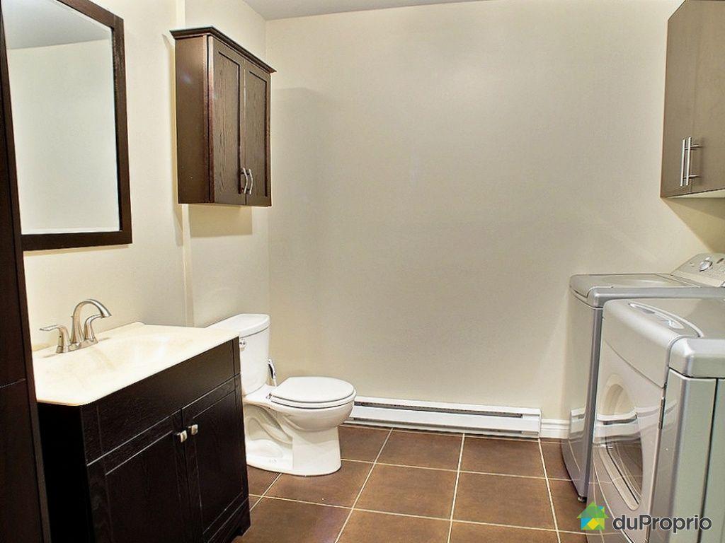 Jumel vendu ste foy immobilier qu bec duproprio 382008 - Salle de bain sous sol ...
