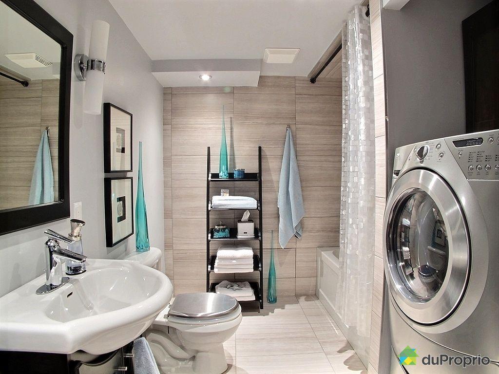 Maison vendu lachenaie immobilier qu bec duproprio 487969 - Salle de bain sous sol ...