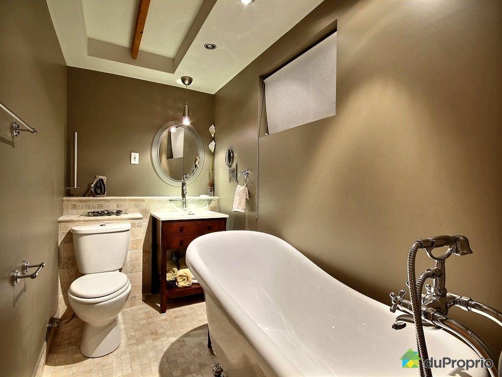 Maison vendu beauport immobilier qu bec duproprio 461126 for Plomberie sous sol salle de bain