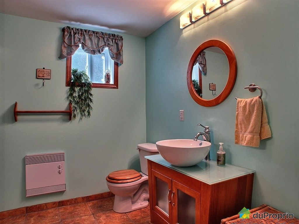 Maison vendu brossard immobilier qu bec duproprio 326868 - Salle de bain sous sol ...